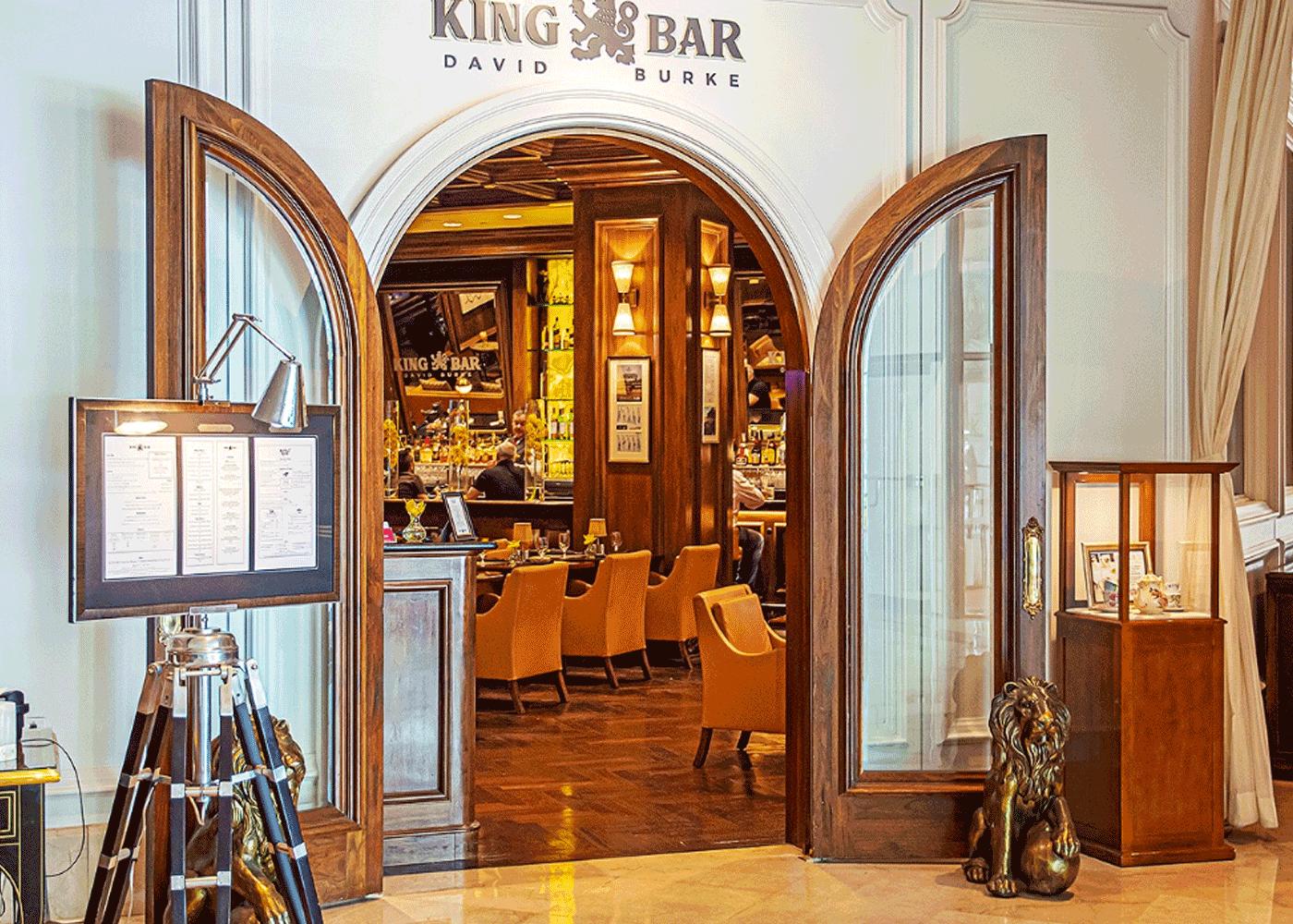 King Bar Entrance
