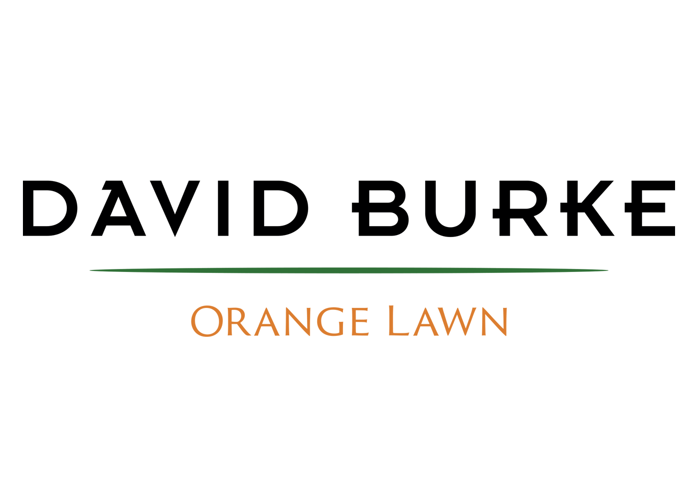 David Burke Orange Lawn logo