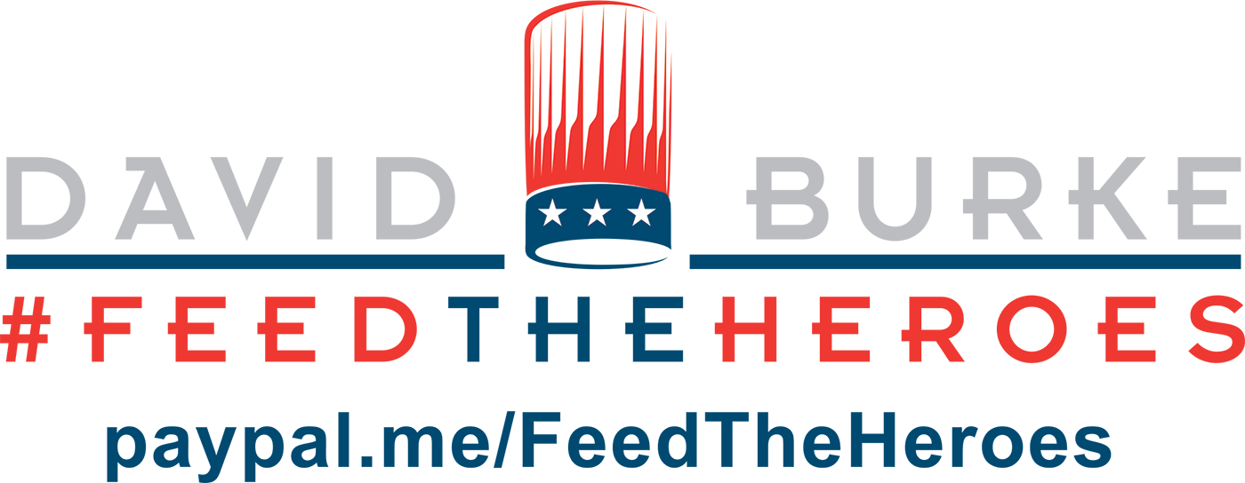 David Burke Feed The Heroes Logo
