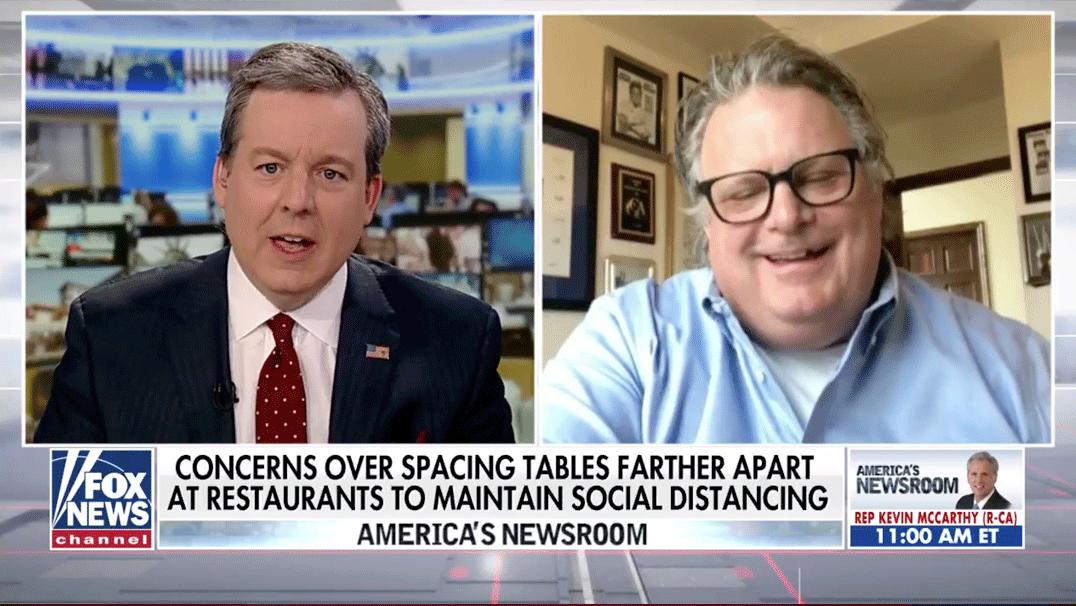 Fox News restaurants open safely TV Appearance