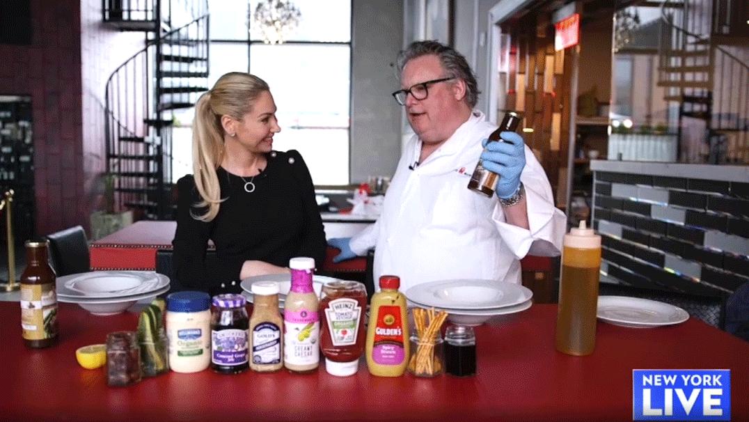 New York Live - Door Sauce TV appearance