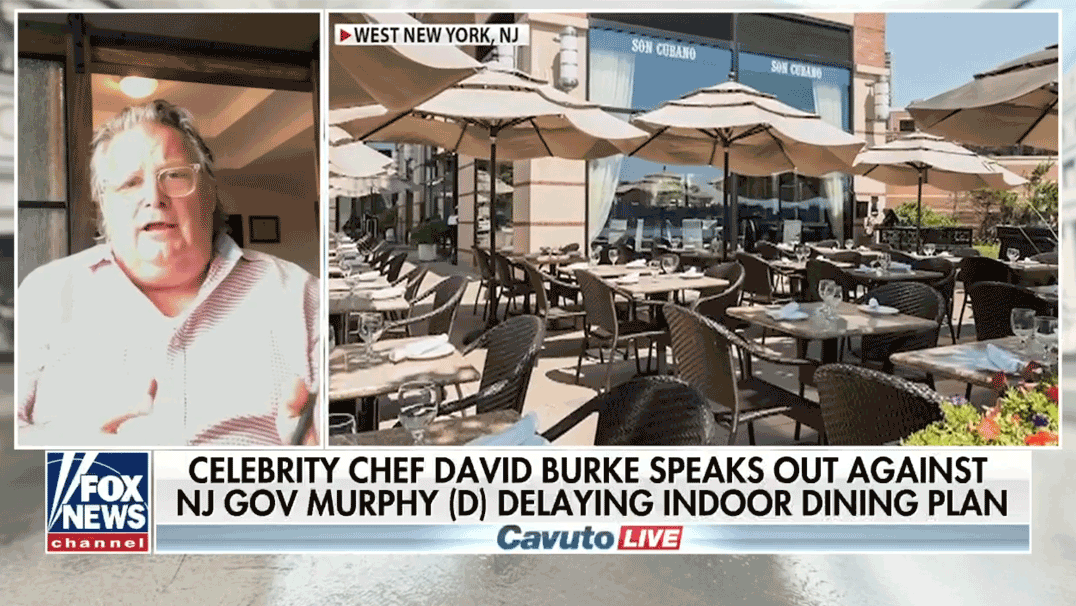 Fox News Outdoor Dining TV Appearance