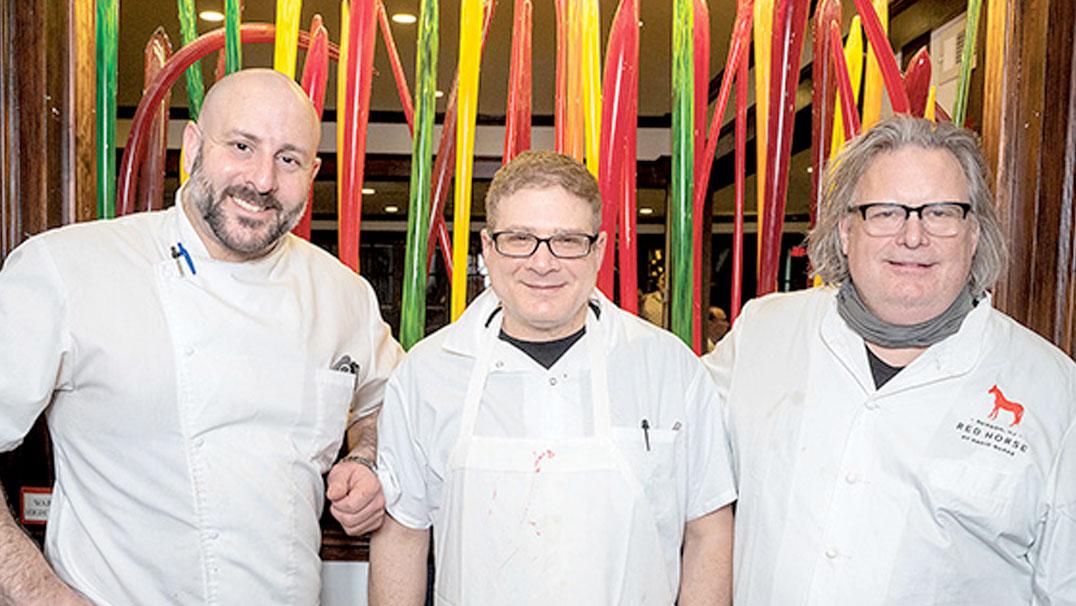 Chef Burke, Carmine and Stuart