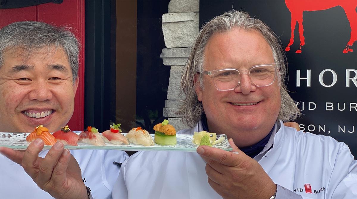 Omakase Diner with Chef David Burke